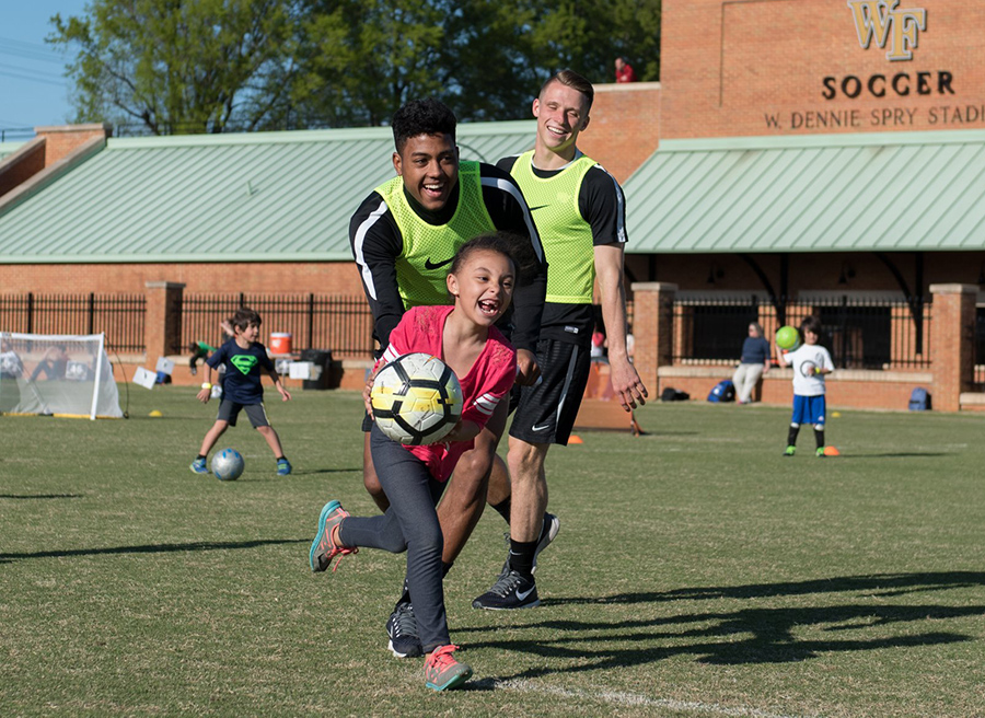 Bobby Muuss Soccer Camps at Wake Forest - powered by Oasys