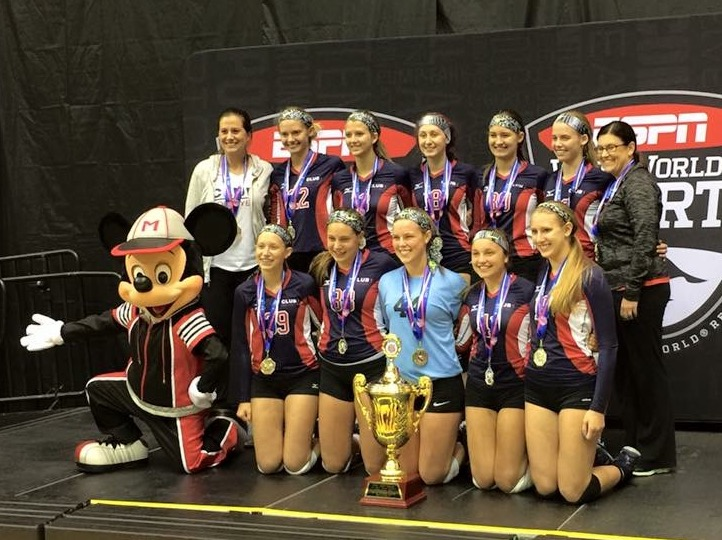 Club 1 Volleyball Powered By Oasys Sports