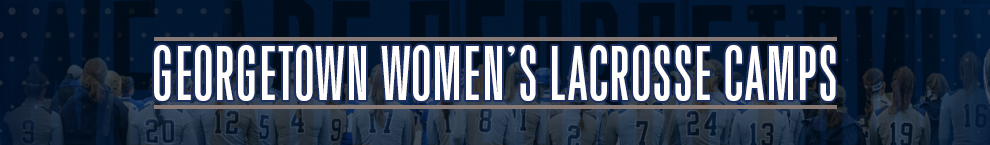 Georgetown Womens Lacrosse Camps