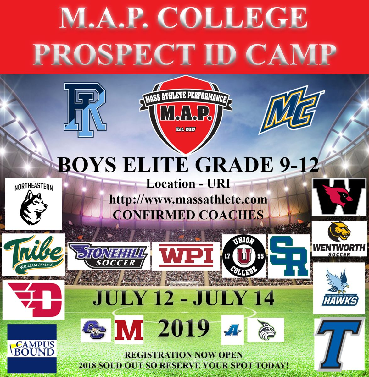M A P College Prospect Elite Id Camp 2019 Powered By Oasys Sports