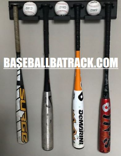 Baseball Bat Rack