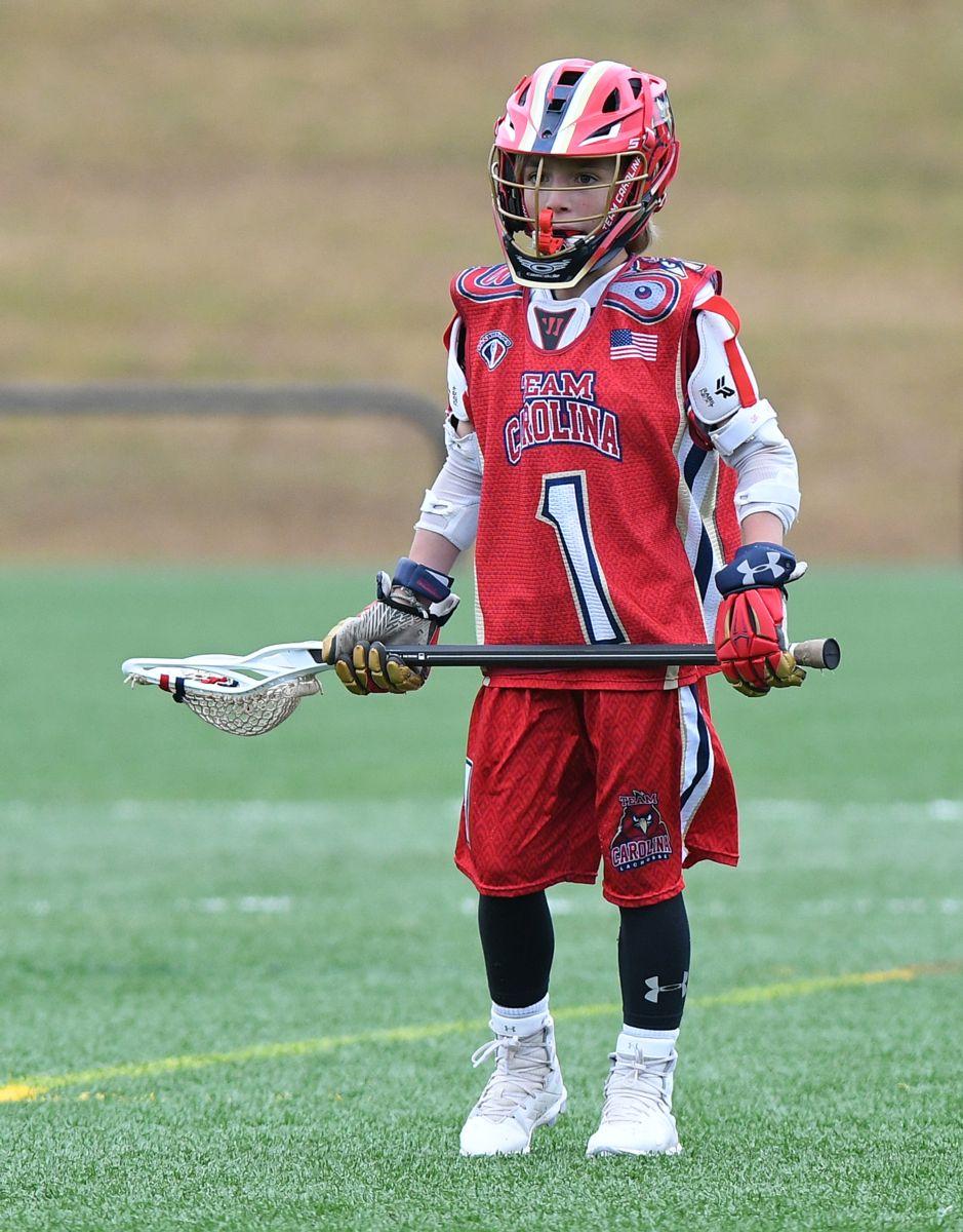 5fb10a77c7 Lacrosse helmet. Mouthpiece Lacrosse gloves. Lacrosse arm guards. Lacrosse  shoulder pads