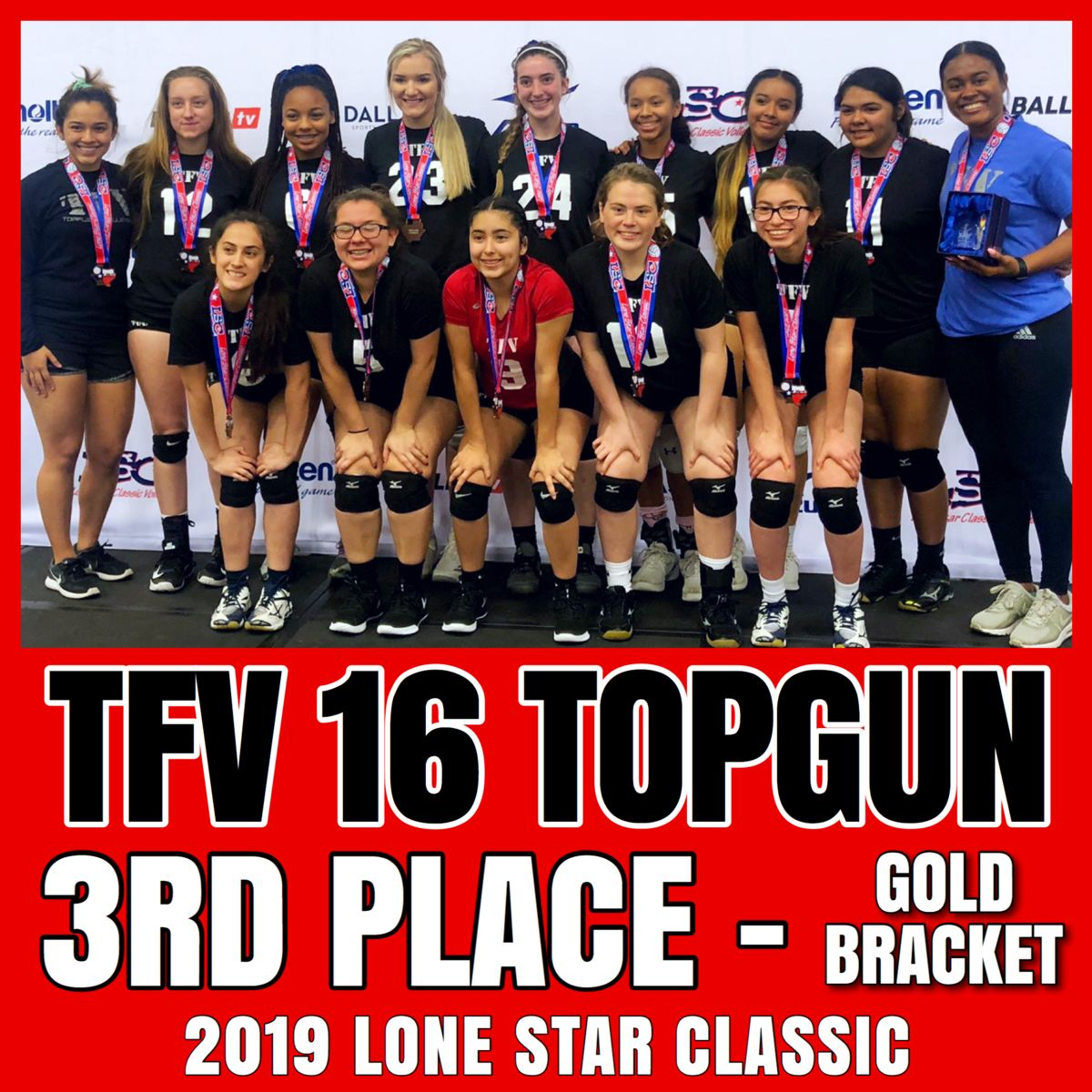 Texas TopFlight Volleyball - powered by Oasys Sports