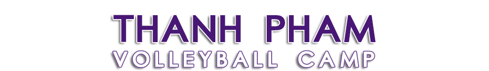Thanh Pham Volleyball Camp
