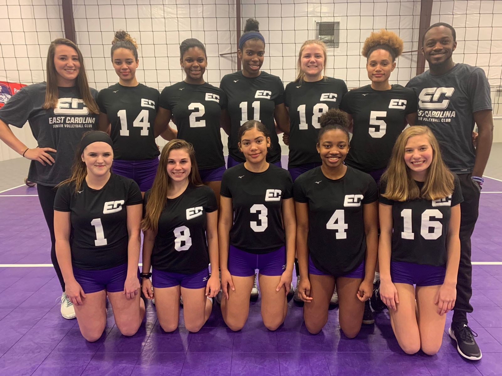 East Carolina Junior Volleyball Club - powered by Oasys Sports